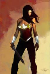 Wonder Woman by DanielMurrayART