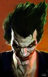 The Joker by DanielMurrayART