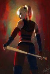Harley Quinn by DanielMurrayART