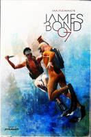 Dynamite 007 cover Mock up V3 by DanielMurrayART