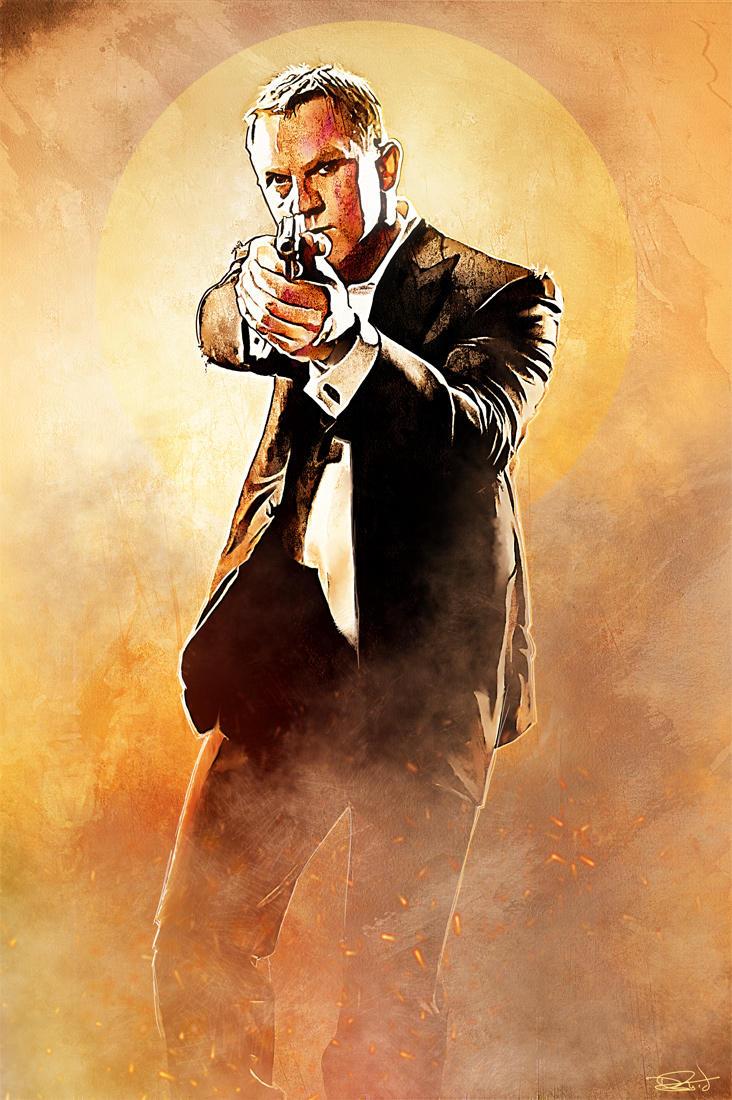 007 - Thunderball by DanielMurrayART