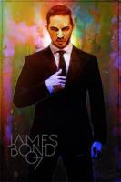 Dynamite 007 Cover MockupV 35 - Tom hardy by DanielMurrayART