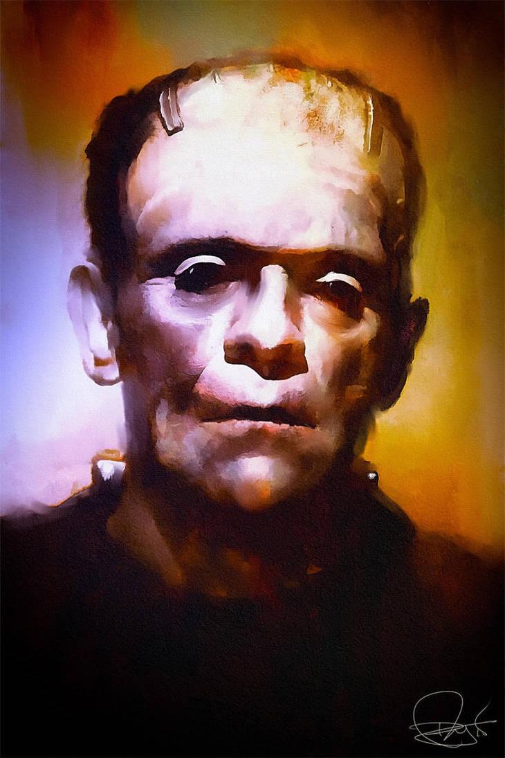Frankenstein's Creation by DanielMurrayART