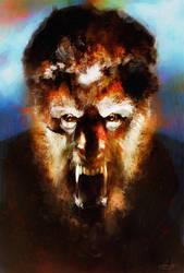 The Wolfman by DanielMurrayART