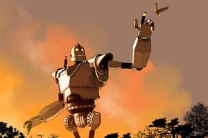 The Iron Giant by DanielMurrayART