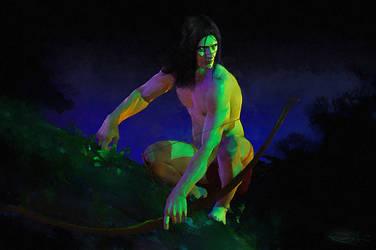 Tarzan by DanielMurrayART