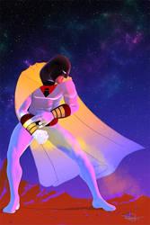 Space Ghost by DanielMurrayART