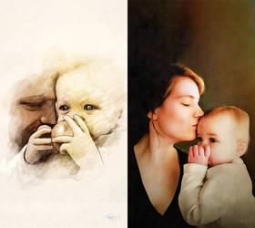 My Children and their children by DanielMurrayART