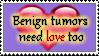 Benign Tumors stamp by Amenrenet