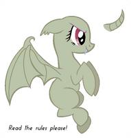 FlutterBat Base by NightmareLunaFan