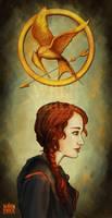 Katniss by Wynta-Illustrations