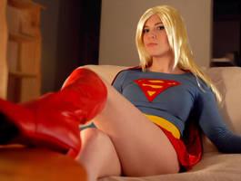 Supergirl by cimorenee