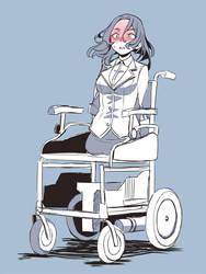Limbless wheelchair by gamera1985