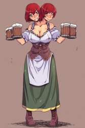 Tavern Wench aftereffects by gamera1985