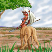 Lion Girl by gamera1985
