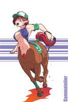Centauress Race by gamera1985