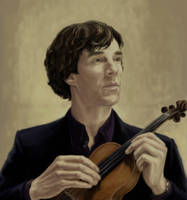 The Violin by mortmere