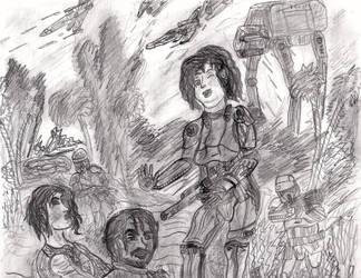 Didi The DeathTrooper by CrappyMSPaintArt
