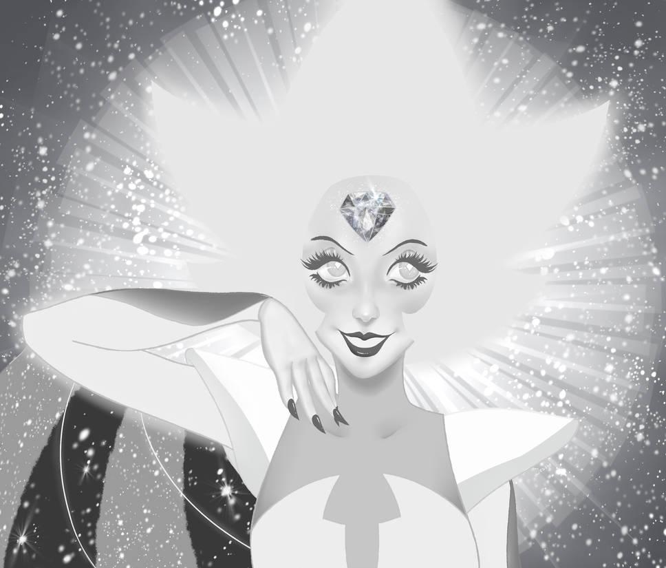 She shines.