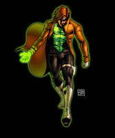 Captain Hal Jordan by HectorBarrientos
