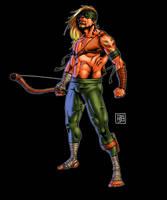 The Green Arrow by HectorBarrientos