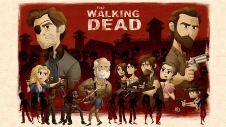 Walking Dead Poster by Erich0823