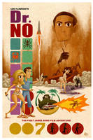 Dr. No Poster by Erich0823