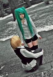 Alois Trancy x Miku Hatsune by Mei-Mei-x3