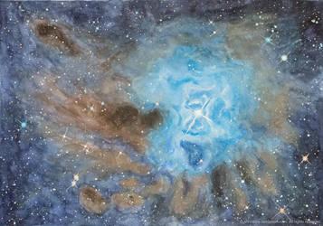 Iris Nebula by Afinodora