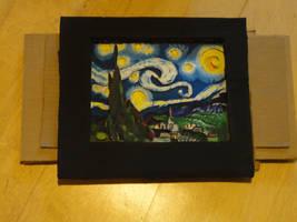 Starry Night in Cardboard II by dmcblue