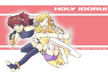 Holy Idoru by tammytee