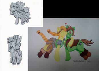 Storm-Con 2013 Commissions by InkDotThePony