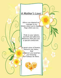 {Poem} A Mothers Love by MAGAngel