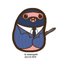 Kawaii Spy Potato by MAGAngel