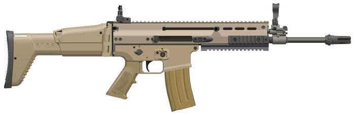 FN SCAR-L by jackroberts