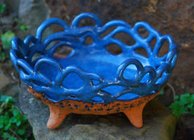 Three Legged Bowl by ForeverTuesday