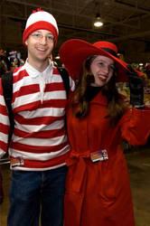 Carmen and Waldo 2 by KittyCanuck