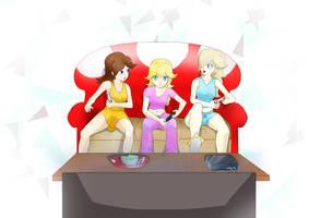 Nintendo - Girls Night Out by BaLoRiuM
