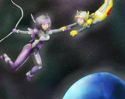 Doc in Space!!! w/ Mitsuba by BaLoRiuM