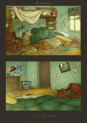 Backgrounds_Bedroom by scalawags