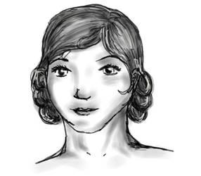 A 1920's Lady by rocklovingwolf100