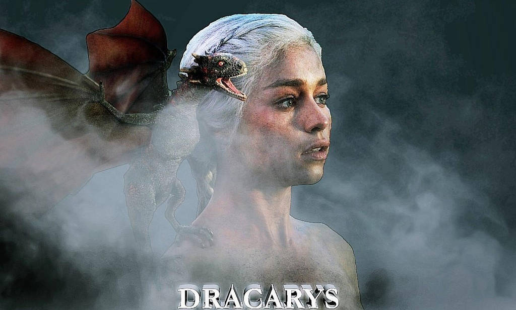 Game of Thrones -Daenerys Targaryen Wallpaper Edit by rocklovingwolf100