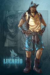 Lucario Guide [Auction: CLOSED] by LuckySquid