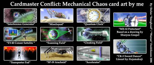 CMC: Mechanical Chaos art by Warran