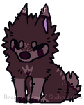 Cute 10 Point Dog/Wolf Adoptable (Closed~) by SmoothiiAdopts