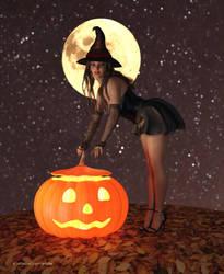 Halloween 2018 - Gloria Gold by BubbleCloud