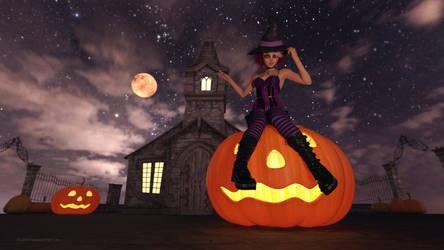 Halloween 2018 - Keiko by BubbleCloud