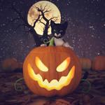 Happy Halloween 2018 by BubbleCloud