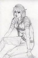 Free sketch 2 - Jezania by Charlotte-DG