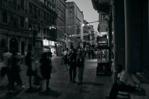 Taksim de gece by ozycan